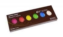 Akvarelové barvy Kuratake Gansai Tambi 6 odstínů Pearl Colours Set