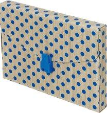 Kufřík Elegant papírový s puntíky