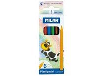 Pastelky Milan 231 trojhranné průměr tuhy 2,9mm