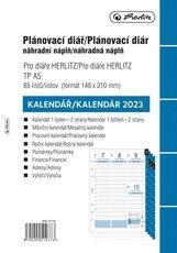 Náplň do diáře A5 2021, týdenní plánování