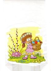 Velikonoční sáček s křížovým dnem