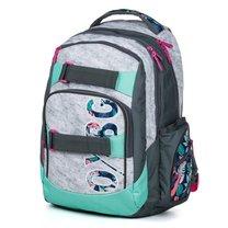 Studentský batoh OXY Style Grey tropical