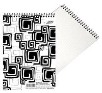 Blok spirálový Black&White A5