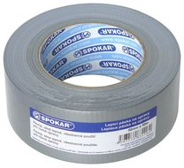 Lepící páska na opravy stříbrná, 50 mm x 50 m