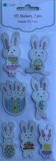 PH 3D samolepky králíčci