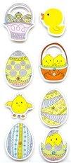 PH 3D samolepky velikonoční vejce