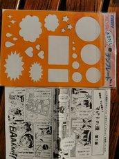 Marvy šablony pro Comics, Manga, psaní a kreslení