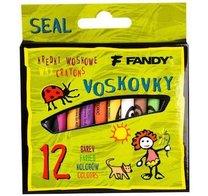 Pastelky voskové Seal 12 barev