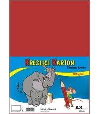 Kreslicí karton 180g A3 barevný