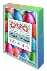 OVO Efekt Set 4 tekutých barev a efekt gelový stříbrný třpyt