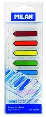 Záložky samolepicí šipky na pravítku Milan barevné