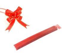 Vázací stuha stahovací 1,8 x 39/10 ks, červená