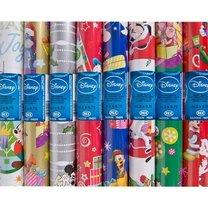 Vánoční balicí papír mix Disney motivů 2x0,7m
