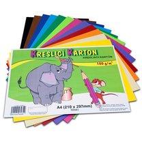 Kreslicí karton barevný