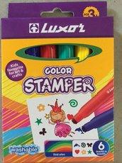 LUXOR 6130/6 COLOR STAMPER / razítkové fixy