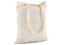 Textilní taška bavlněná k domalování / dozdobení 34x39 cm