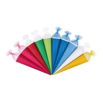 Školní kornout kulatý 70cm mix barev