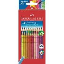 Pastelky Faber-Castell Grip 2001 sada 24 ks barev