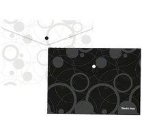 Obálka s drukem Black & White