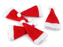 Mini vánoční čepice 5KS
