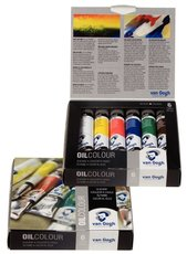 Sada olejových barev van Gogh základní odstíny 6x20ml