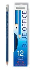 Tužky blue office s pryží