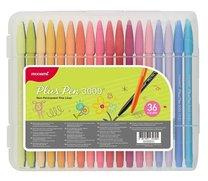 Popisovač Monami Plus Pen 3000 barevná sada 36 KS