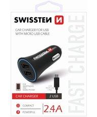 USB nabíječka do auta 12V