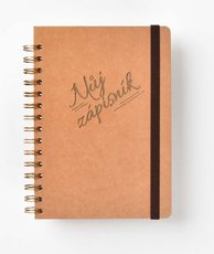 BOBO Můj zápisník A5 Kreativní zápisník v kroužkové vazbě o formátu