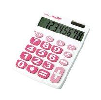 Kalkulačka Milan 151708 s velkými tlačítky bílorůžová