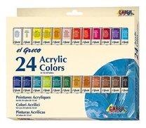 Akrylové  barvy KREUL EL GRECO 24 barev, 12 ml v tubě