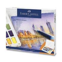Faber Castel akvarelové barvy v sadě s paletkou