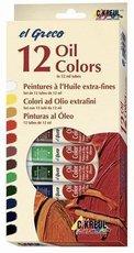 Olejové barvy KREUL EL GRECO 12 barev v tubách