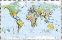 Nástěnná mapa Světa