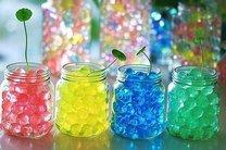 Dekorační hydro-gel krystal