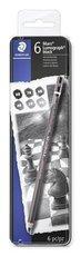 """STAEDTLER grafitové tužky umělecké  """"Mars Lumograph"""", 6 tvrdostí"""