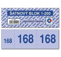 Šatnový blok 1-200 čísel, ET 295