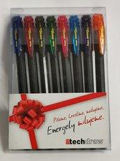 Pentel Energel sada BL417 8barevných odstínů