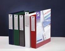 Pořadač katalogový s přední a hřbetní kapsou