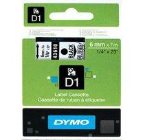 Páska D1 pro štítkovače Dymo 12mm černá/červená