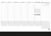 Pracovní plánovací kalendář