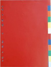 Rejstřík PP barevný
