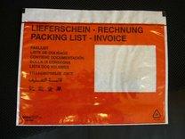 Obálky nalepovací na balíky Červené
