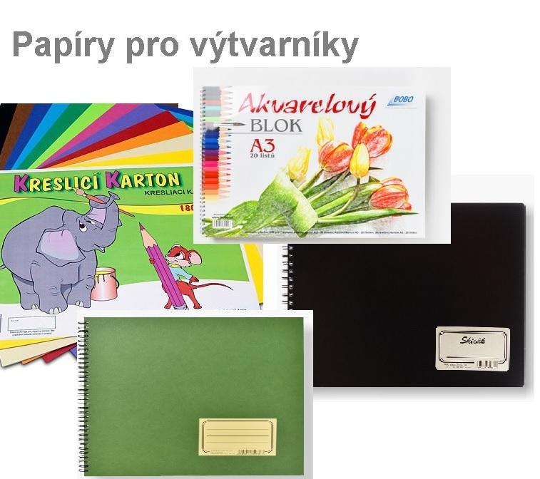 papírnictví, Plzeň, Farského, školní potřeby, kancelářské, školní, výtvarné, batohy, pastelky, papír