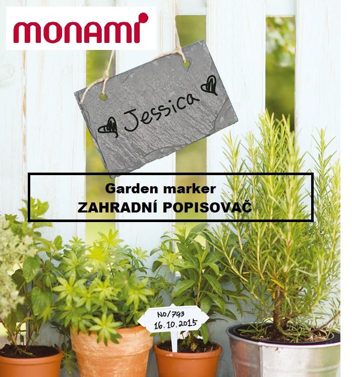zahradní, popisovač, fix, permanetní, garden, garden marker, zahradní popisovač, Monami, skleník, záhony, pěstovat, rostliny